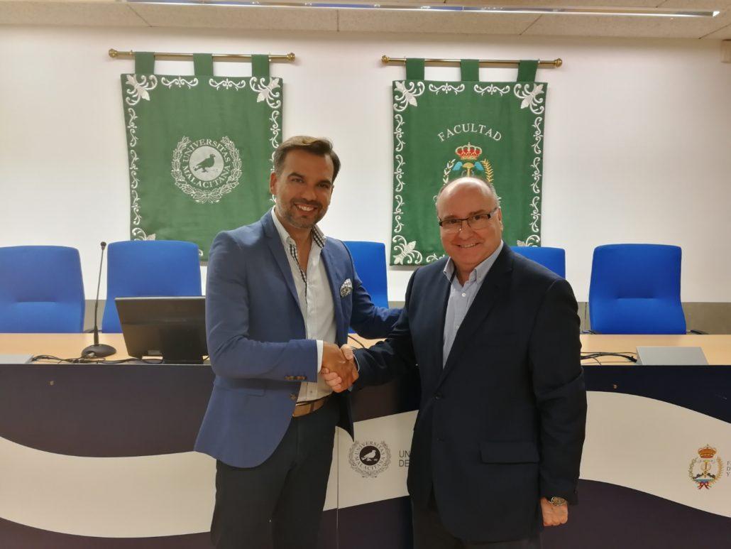 Acuerdo de colaboración con el Centro Comercial Centro Plaza para para el desarrollo del I Máster Propio Universitario en Retail Marketing