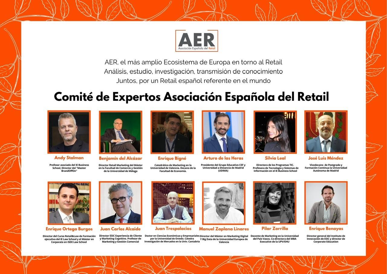 El director del Máster en Retail Marketing de la Universidad invitado a formar parte del Comité de Expertos de la Asociación Española de Retail (AER)