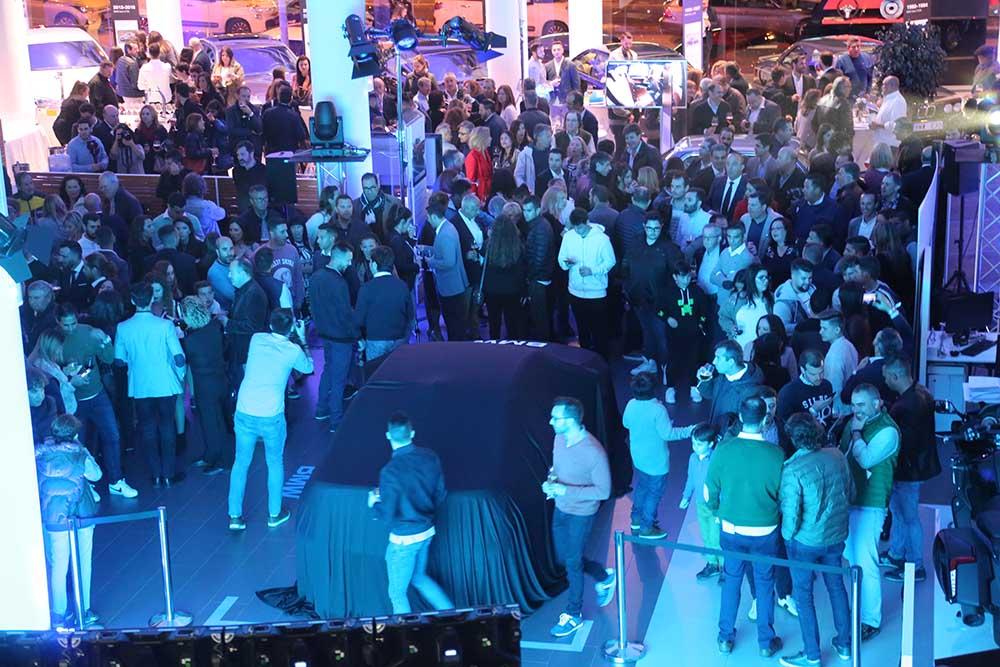Los alumnos del Máster acuden al evento de presentación de la nueva Serie 3 de BMW invitados por Automotor Premium BMW
