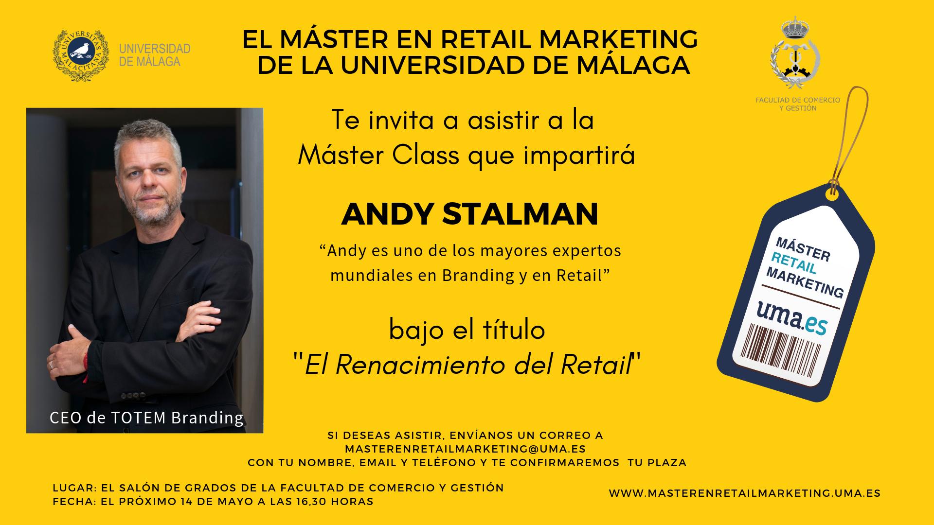 Master Class de Andy Stalman, CEO de Totem Branding, en el Máster de Retail Marketing
