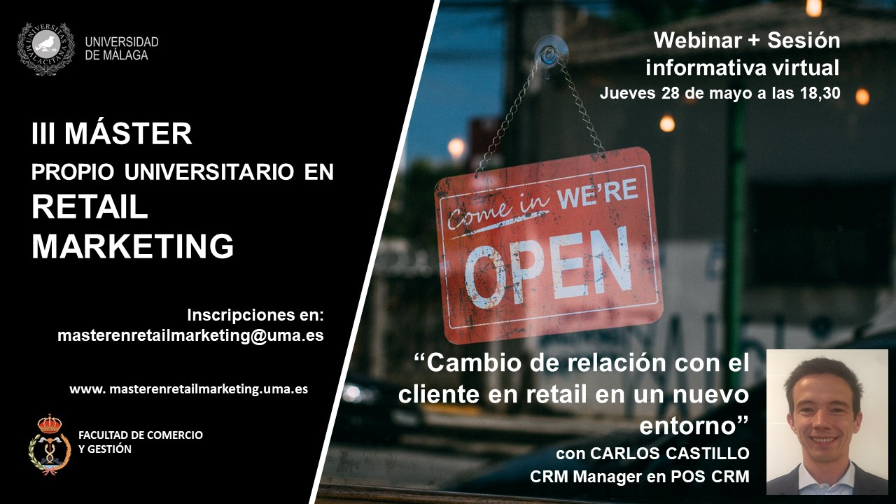 Webinar + sesión informativa virtual